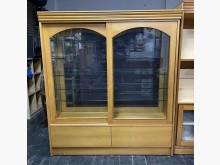[8成新] 三合二手物流(雙面玻璃展示櫃)其它櫥櫃有輕微破損
