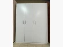 [9成新] 三合二手物流(精美三門衣櫃)衣櫃/衣櫥無破損有使用痕跡