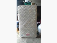 [8成新] 提花布3.5呎傳統床墊單人床墊有輕微破損