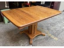[9成新] 三合二手物流(橡木麻將餐桌)餐桌無破損有使用痕跡