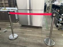 吉田二手傢俱❤單支不鏽鋼伸縮圍欄其它近乎全新