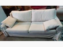 米白三人座布沙發其它沙發無破損有使用痕跡