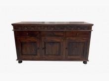 [9成新] TK30830*老柚木餐櫃*碗盤櫥櫃無破損有使用痕跡