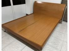 [8成新] 三合二手物流(實木5*6床架)雙人床架有輕微破損