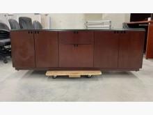 [95成新] 胡桃桌後櫃/置物櫃/收納櫃/矮櫃其它櫥櫃近乎全新
