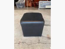 [全新] 大慶二手家具 新品黑皮輔助椅單人沙發全新