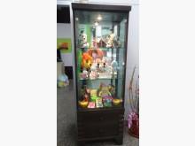 [8成新] 立式led玻璃展示櫃其它櫥櫃有輕微破損
