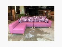 [全新] 新品水鑽紫羅蘭貓抓皮L型沙發L型沙發全新