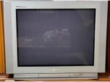 [7成新及以下] 聲寶SC-34FV6 中古電視電視有明顯破損