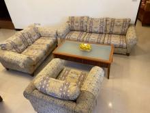 [9成新] 法式沙發組(贈桌子)-需自取多件沙發組無破損有使用痕跡