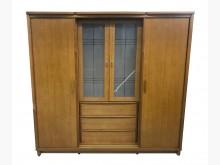 [7成新及以下] B31102*木色7尺大衣櫃*衣櫃/衣櫥有明顯破損