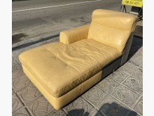 [9成新] 三合二手物流(牛皮收納沙發)雙人沙發無破損有使用痕跡