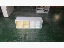 [8成新] 合運二手傢俱~潔保雙排7抽資料櫃辦公櫥櫃有輕微破損