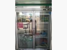 [8成新] 冷藏/玻璃2門/電壓220v冰箱有輕微破損