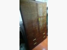 [8成新] 古董檜木衣櫃櫥/櫃有輕微破損