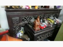 [8成新] 古董檜木神明上下桌其它古董家具有輕微破損