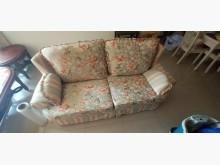 [9成新] 花漾三人座布沙發雙人沙發無破損有使用痕跡