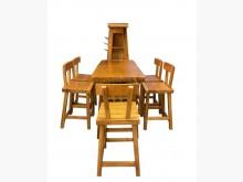 [95成新] A30812*吧檯桌+5椅餐桌椅組近乎全新