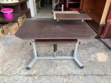 [8成新] 胡桃鐵腳4尺 升降成長書桌電腦桌書桌/椅有輕微破損