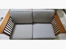 [9成新] 9成新 詩肯柚木2.5人沙發 灰木製沙發無破損有使用痕跡
