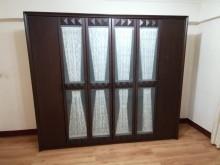 [9成新] 六門衣櫥六門衣櫃8尺衣櫥衣櫃/衣櫥無破損有使用痕跡