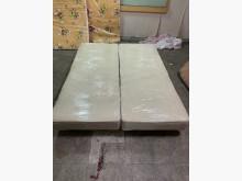 [9成新] 白色5呎布料床底雙人床架無破損有使用痕跡