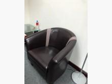 [8成新] 耐磨皮面單人沙發(共六張)單人沙發有輕微破損