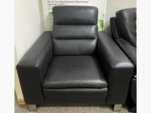 [9成新] 【二手沙發】真皮單人座沙發單人沙發無破損有使用痕跡