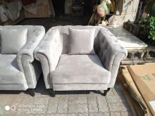 [全新] 灰色單人沙發高密度泡棉95*82單人沙發全新