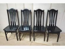 [7成新及以下] 二手胡桃餐椅x4張 桃園區免運費餐椅有明顯破損