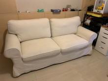 [9成新] IKEA EKTORP 沙發床雙人沙發無破損有使用痕跡