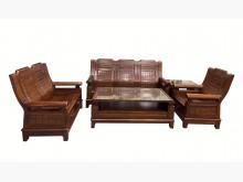 [8成新] ZH42010樟木123大小茶几木製沙發有輕微破損
