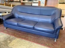 [9成新] 保存佳合成皮三人沙發組多件沙發組無破損有使用痕跡