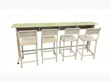[7成新及以下] E50401*4人坐學生課桌椅*書桌/椅有明顯破損
