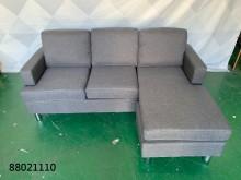 [全新] 88021110 深灰布L型沙發L型沙發全新