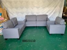 [全新] 88023110 深灰布沙發組多件沙發組全新