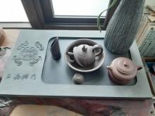 [9成新] 石雕茶盤其它廚房用品無破損有使用痕跡