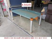 [9成新] A54145 鋁合金 主管桌電腦桌/椅無破損有使用痕跡