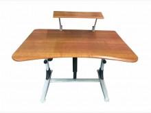 [8成新] E42609*木紋電腦桌*電腦桌/椅有輕微破損