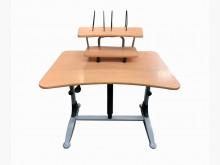 [8成新] E42610*木紋電腦桌*電腦桌/椅有輕微破損