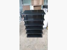 [9成新] 黑色簡約六層鞋架鞋櫃無破損有使用痕跡