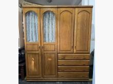 [8成新] 三合二手物流(橡木6尺高衣櫃)衣櫃/衣櫥有輕微破損