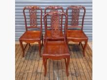 [8成新] 實木餐椅書桌/椅有輕微破損