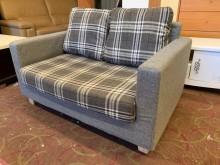 [9成新] 小套房使用雙人布沙發雙人沙發無破損有使用痕跡