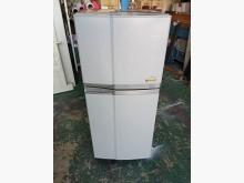 [9成新] 東芝 120L雙門冰箱冰箱無破損有使用痕跡