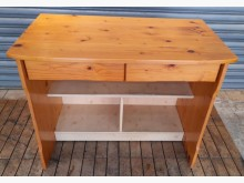[8成新] 松木二抽書桌書桌/椅有輕微破損