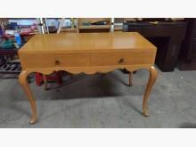 [9成新] 松木色雅緻兩抽書桌書桌/椅無破損有使用痕跡