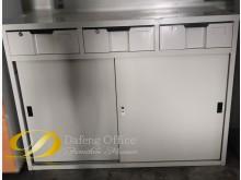 [9成新] (二手)四尺拉門資料櫃辦公櫥櫃無破損有使用痕跡