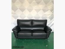 [9成新] 二手/中古 黑色皮雙人沙發雙人沙發無破損有使用痕跡