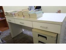 [9成新] 白色書桌/辦公桌辦公桌無破損有使用痕跡